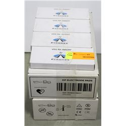 2 CASES OF PHILLIPS DP ELECTRODE PADS,