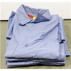 BUNDLE OF REDCAP BLUE SHORT SLEEVE WORK SHIRTS