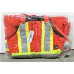 WORK KING INSULATED HI-VIS BIBS SIZE MEDIUM