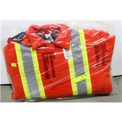 INSULATED HI-VIS JACKET SIZE SMALL