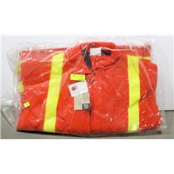 INSULATED HI-VIS WORK JACKET SIZE SMALL