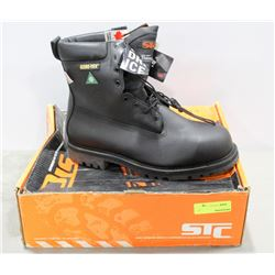 PAIR OF STC GOR-TEX STEEL TOE WORK BOOT