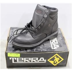 PAIR TERRA STEEL TOE WORK BOOT SIZE MENS 10.5