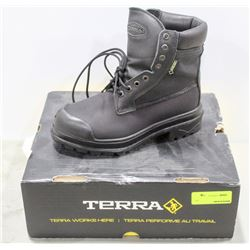 PAIR  OF TERRA STEEL TOE WORK BOOT MENS SIZE 6