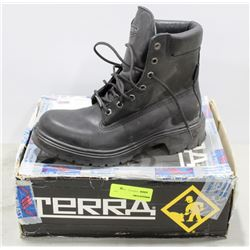 PAIR  OF TERRA STEEL TOE WORK BOOT MENS SIZE 8