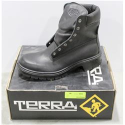 PAIR  OF TERRA STEEL TOE WORK BOOT MENS SIZE 8.5