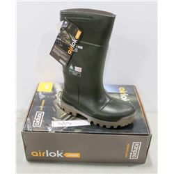 PAIR OF AIRLOK ULTRA STEEL TOE RUBBER BOOTS