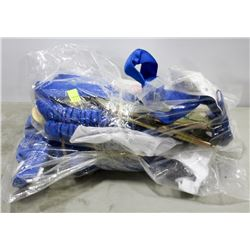 LOT OF 2 FALL PROTECTION ROPES