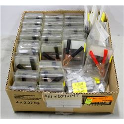 BOX OF 23 CLAMPS 50 AMP AND MORE