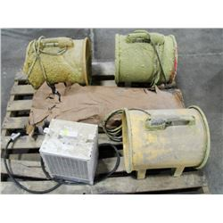 PALLET OF CONSTRUCTION BLOWERS