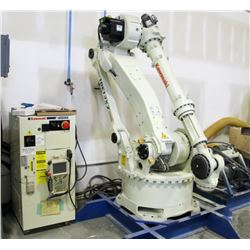 KAWASAKI ROBOTIC ARM, MODEL #P80B22450LCPUB
