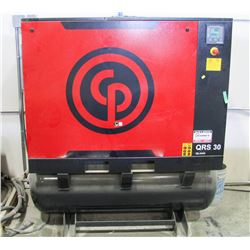 CHICAGO PNEUMATIC 30 HP ROTARY SCREW COMPRESSOR