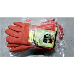 BUNDLE OF TORPEDO PLUS WINTER LINED PVC GLOVES