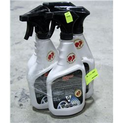 5 BOTTLES OF KLEENFLO BRAKE, DISC & WHEEL CLEANER