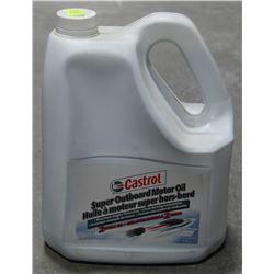 4 LITRE JUG OF CASTROL SUPER OUTBOARD MOTOR OIL