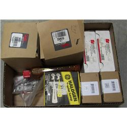 BOX OF ASSORTED VEHICLE & TRAILER LIGHTING