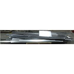 PALLET OF ASSORTED METAL ROOFING MATERIAL