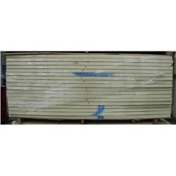 PALLET OF IKOTHERM INSULATED PANELS, 4 FT X 8 FT