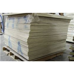 PALLET OF IKOTHERM INSULATED PANELS, 4 FT X 4 FT