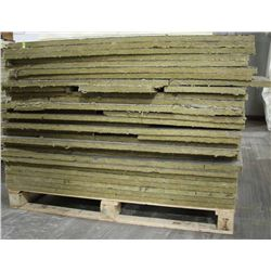 PALLET OF IKOTHERM INSULATED PANEL, 4 FT X 4 FT,