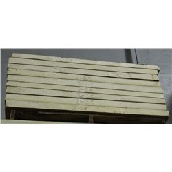 PALLET OF IKOTHERM INSULATED PANEL, 4 FT X 4 FT
