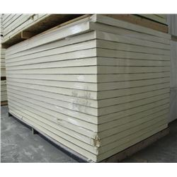 PALLET OF IKOTHERM INSULATED PANEL, 4 FT X 8 FT