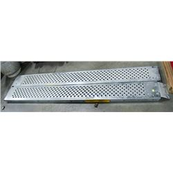 PAIR OF ULTRA CRAFT TRUCK RAMPS, WORKING LOAD