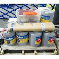 PALLET OF VARIOUS ADHESIVES & MORE