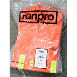 LOT OF 2 RAINPRO CONTRACTOR JACKET, SIZE SMALL