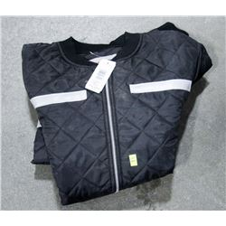 WORK KING QUILTED JACKET WITH REFLECTORS, SIZE XL