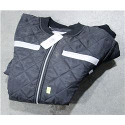 WORK KING QUILTED JACKET WITH REFLECTORS, SZ 2XL