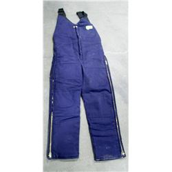NORTH INSULATED BIB OVERALLS, SIZE SMALL