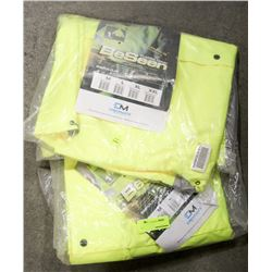 LOT OF 2 BE SEEN TRAFFIC GEAR JACKET, SIZE 2XL