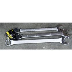 "3 NEW STANLEY WRENCHES, 1-1/4"", 1-1/8"", 1-1/2"""