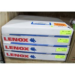 LOT OF 4 LENNOX BAND SAW BLADES