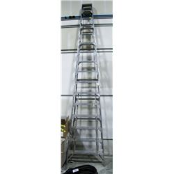 16 FOOT ALUMINUM STEP LADDER