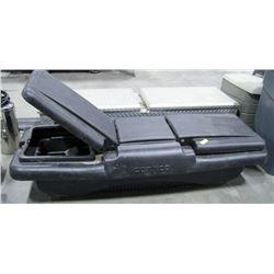 "COMTICO BLACK TRUCK TOOL BOX, APPROX 60"" WIDTH"