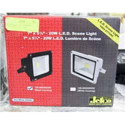 SCENE LIGHT , 5X7 LED XTRA WHITE, 100, 277VAC,