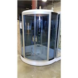BLUE SERIES 533 STEAM SHOWER ROOM WITH OVERHEAD