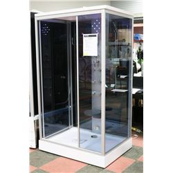 "BLUE D02L/D STEAM SHOWER 48""X35""X87"""