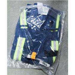 PAIR OF IFR WORKWEAR COVERALLS, HI-VIS SZ 52-54