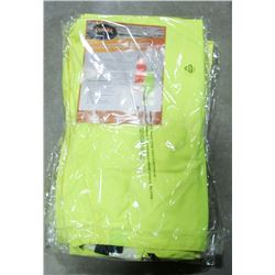 LOT OF 4 HI-VIS BIB PANTS SIZE SMALL