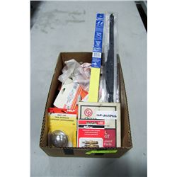 ASSORTED BOX OF NEW AUTO PARTS & MORE