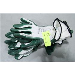 BUNDLE OF 6 PAIR HYFLEX WORK GLOVES
