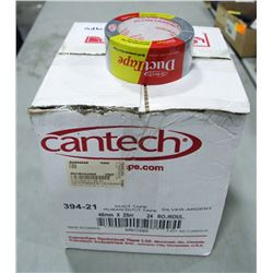 CASE OF 24 ROLLS OF CANTECH DUCT TAPE