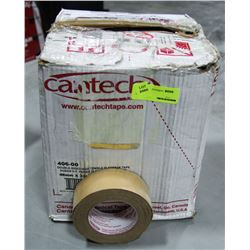 CASE OF 24 ROLLS OF DOUBLE SIDED HIGH TENSILE