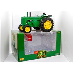John Deere 80 diesel tractor Ertl 1:16 Has Box