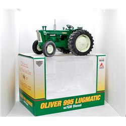 Oliver 995 lugmatic s/ GM diesel SpecCast 1:16 Has Box