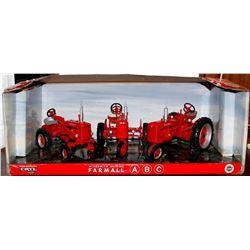 McCormick-Deering Farmall A, B & C tractors Ertl 1:16 Has Box