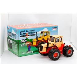 Case 2470 Traction King '07 Farm Toy Show Vintage 5 4WD Series Ertl 1:32 Has Box